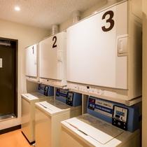 【ランドリー】1F(洗濯機:¥200円・乾燥機:無料)