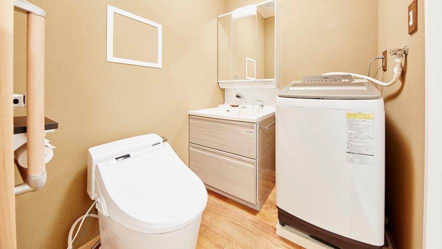 全室に洗濯乾燥機を完備