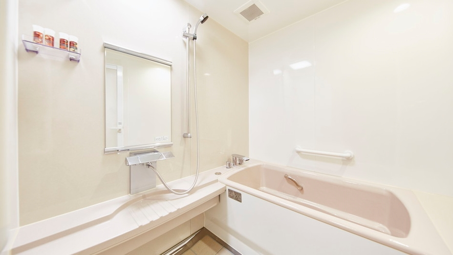 ダブルルーム・ツインルームのバスルーム