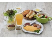 身体の中からキレイに♪15種類のお野菜たっぷりスープと洋朝食