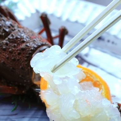 【選べるメイン】伊勢海老 or 鮑◆雲見の新鮮海の幸料理とともに♪