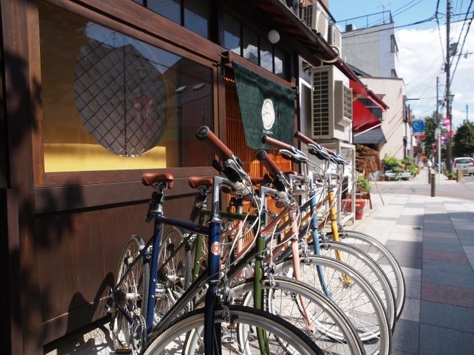 【レンタサイクル】tokyobikeの自転車5台を無料でご用意しております。