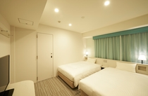 ツインルーム ベッド幅120cm×2台