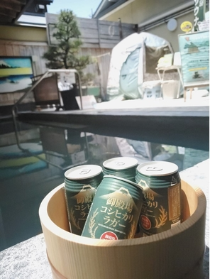 期間限定♪お得なケースビール付きプラン(御殿場高原コシヒカリラガー)