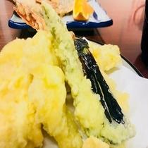 ★夕食天ぷら