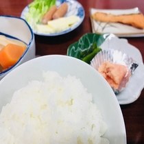 ★朝食一例