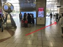 名古屋駅新幹線降口・JR名古屋駅出口側の太閤通口へお進みください。