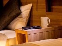 【部屋イメージ】機能的なお部屋は快適な大阪滞在をお届けいたします。