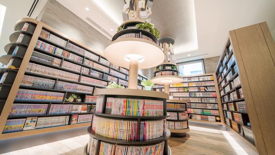 2021.07.01設置「MANGA Library」
