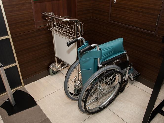 【貸し出し用車椅子】車椅子ご利用のお客様はお問い合わせください。
