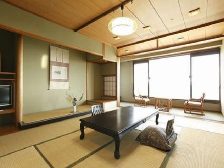 ◆和室10畳◆相模灘&伊豆大島一望のオーシャンビューのお部屋