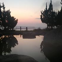 大野天風呂からの眺め1