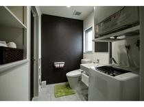 【全室完備】全自動洗濯機&ガス衣類乾燥機