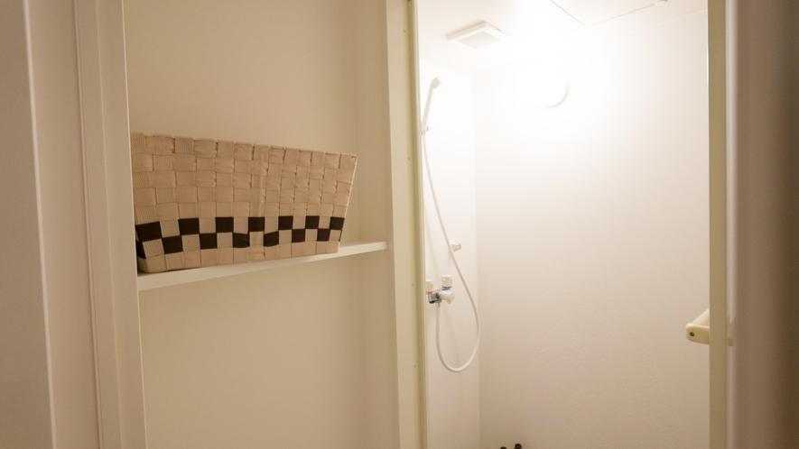 【館内設備】共用シャワールーム