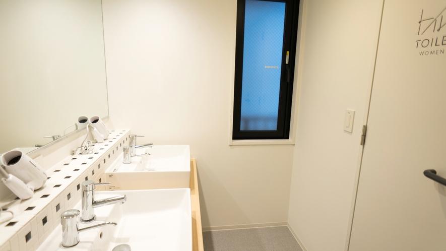 【館内設備】共用洗面台