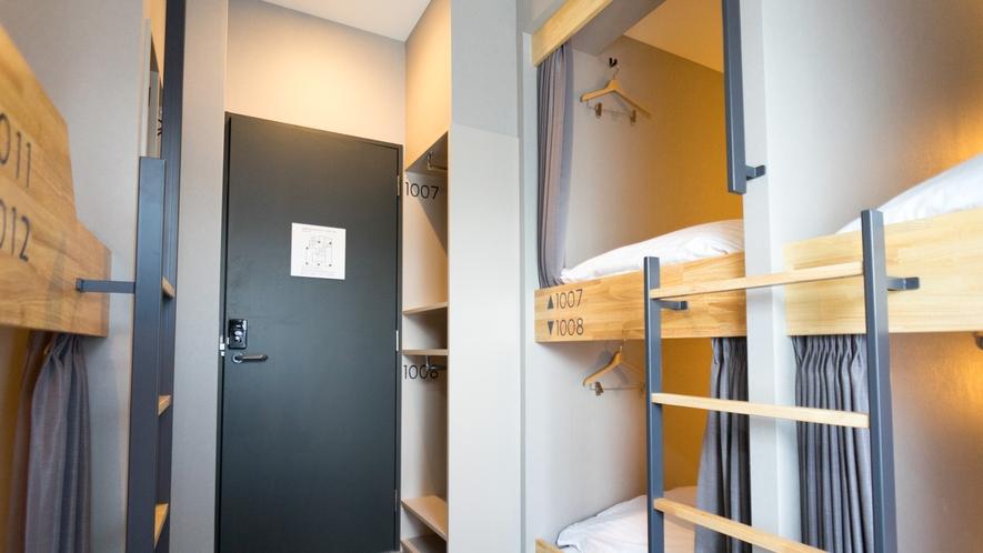 【客室】ファミリールーム◆6名様定員(シャワー・トイレ共用)