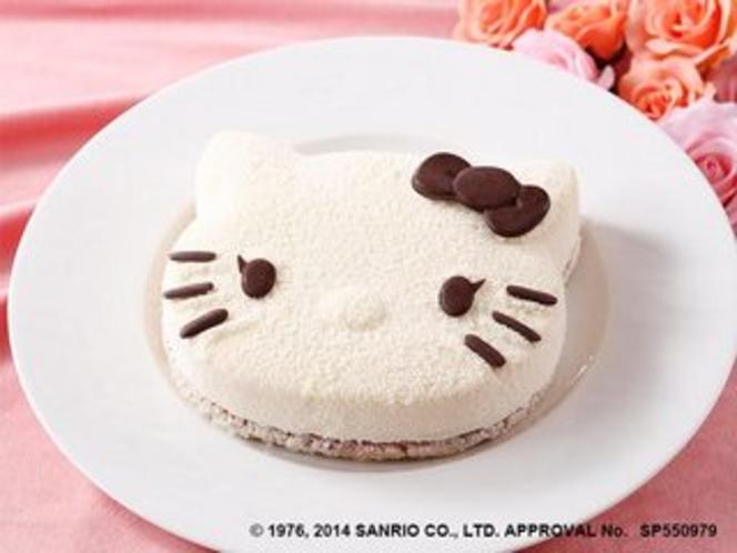 ハローキティケーキのイメージ