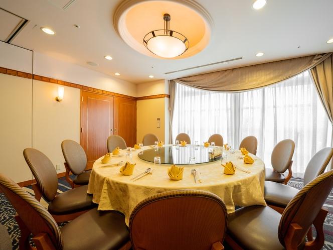 中国料理<南園>はご会食やご家族の集まりに個室のご用意もございます♪