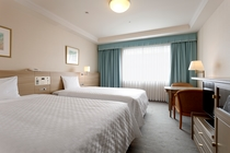 【カジュアルコンフォートツイン】ベッド幅120cm×2台/24平米/エレガントでゆったりとした空間。