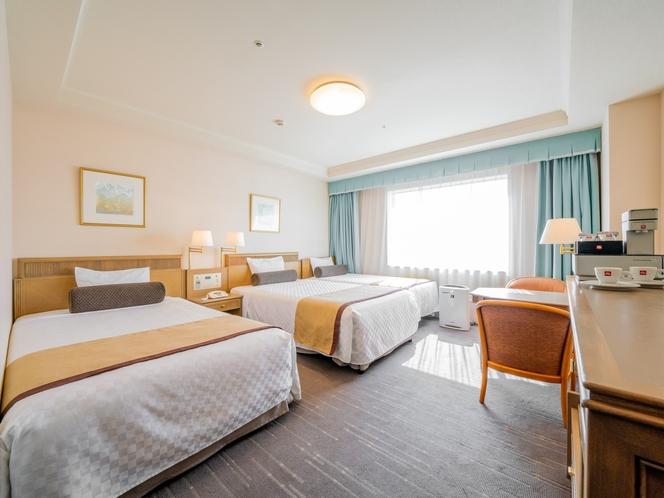 【エグゼクティブファミリー】ベッド幅90〜120cm×3台/26.3平米/より快適さを追求したお部屋