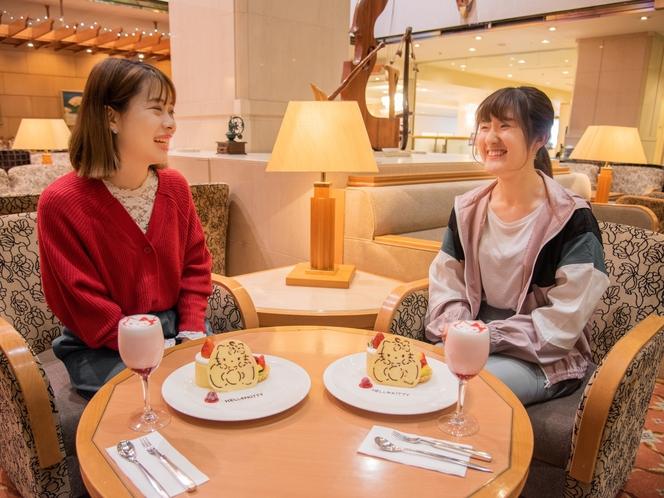 京王プラザホテル多摩オリジナルのハローキティスイーツは思わずSNSにアップしたくなる可愛さ♪