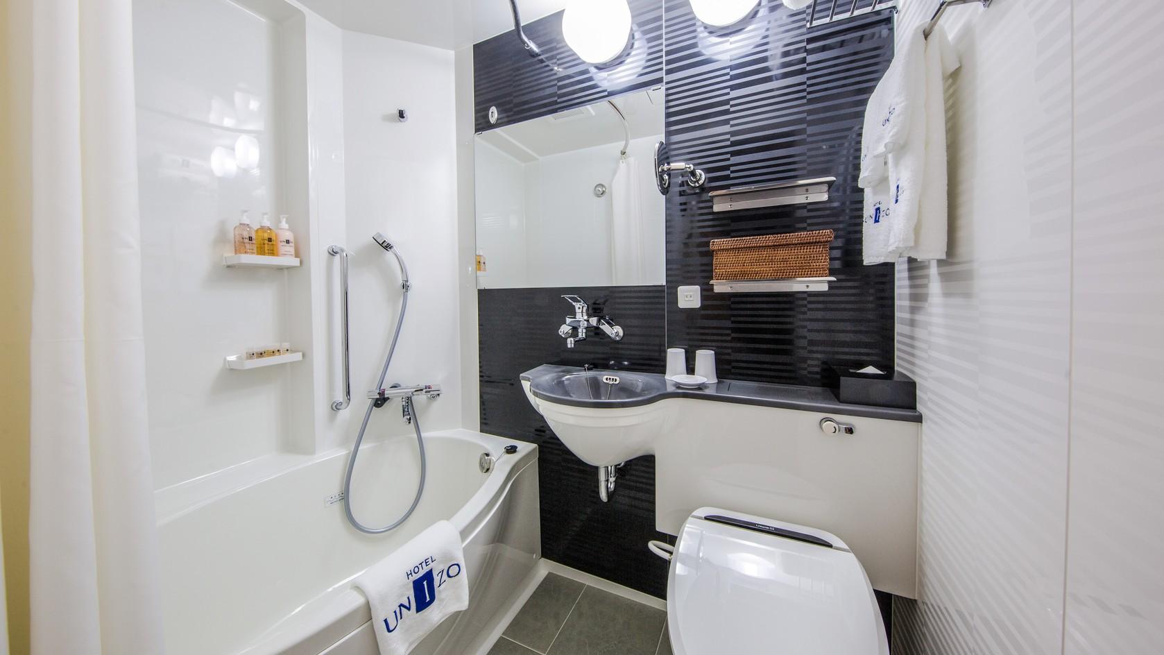 シングルダブル浴室