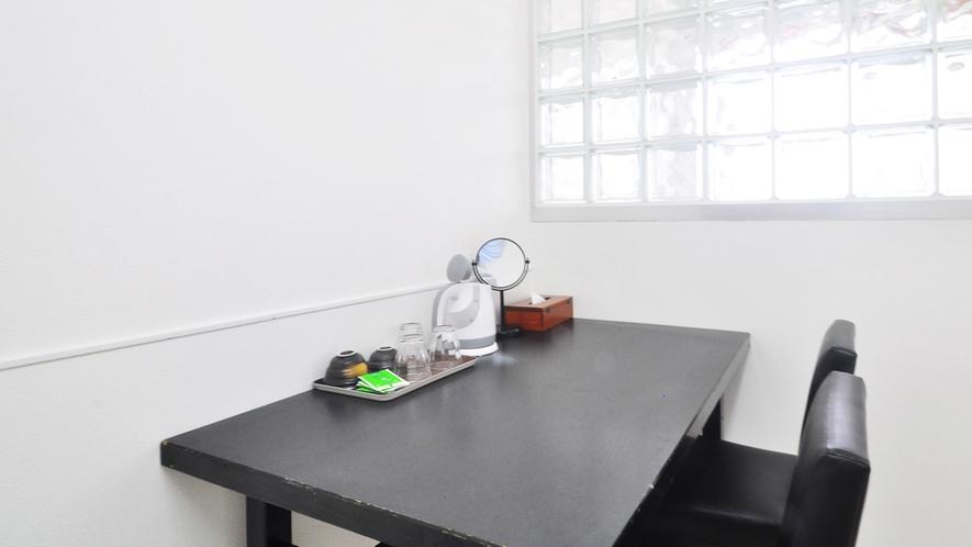 【別館1Fルーム】2人用ミニテーブルセット