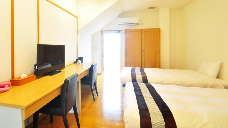 【別館1Fルーム】客室:コンパクトですっきりしたお部屋です♪