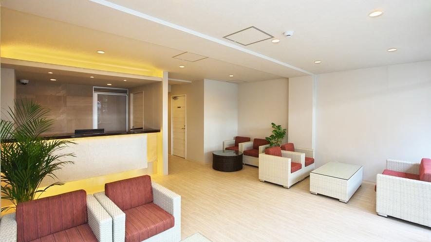 フロント:おかえりなさい。お仕事で疲れた心と体を毎日癒せるような、 毎日帰りたくなるホテルです。