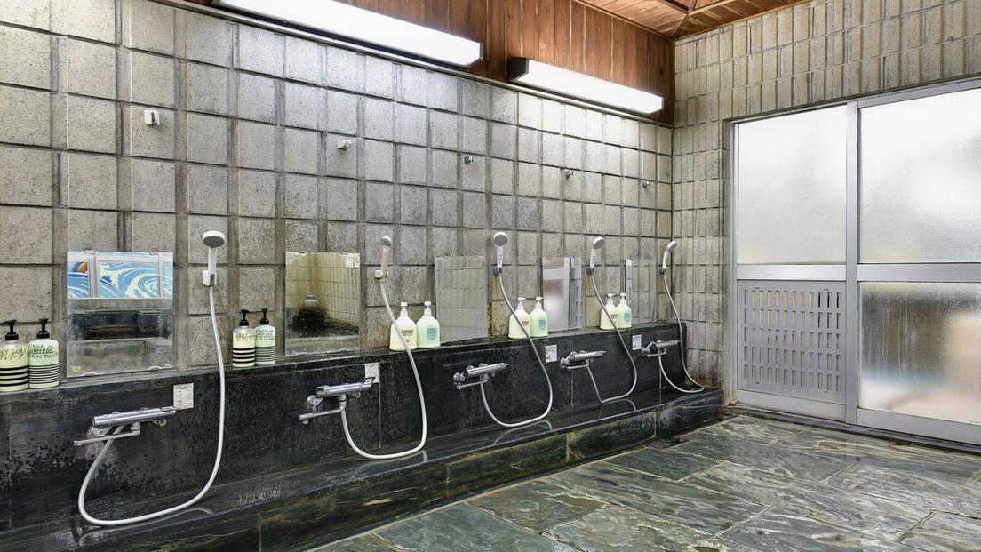 *【大浴場一例】洗い場(男湯)