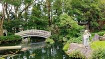 *【庭園】木々と池を眺めながら、ゆっくりと流れるひと時をお楽しみください