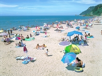 【海水浴場】宿周辺には、多数の海水浴場が点在しています。
