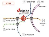 【福岡市営地下鉄マップ】