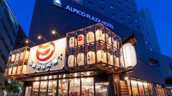 ホテル1階に県内最大級の飲み歩き横丁『松本つなぐ横丁』がオープン♪