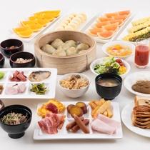 【朝食バイキング】信州の食材を豊富に使用した40種類の和洋バイキング♪