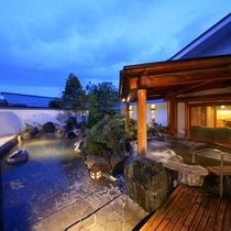 5つ星の宿☆「美ヶ原温泉翔峰」入浴無料♪翔峰自慢の露天風呂でお寛ぎ下さい。