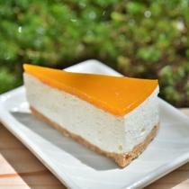 デザート「ほおずきケーキ」