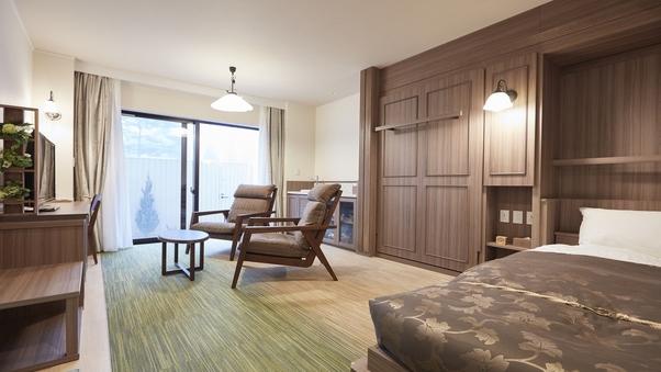 ツイン(前庭付き)…客室30平米+前庭5〜10平米
