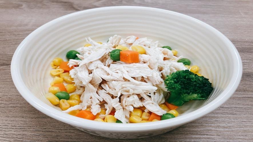 【ドッグミール】鶏ササミ101kcal@有料、当日予約可