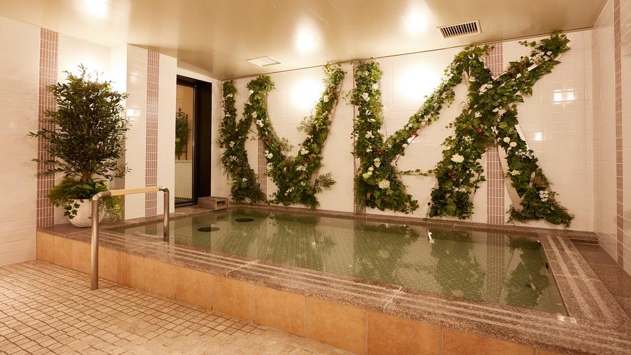 【お風呂】大浴場-内湯(天然温泉)