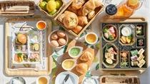 朝から美味しい朝食と自然豊かなオープンエアーで