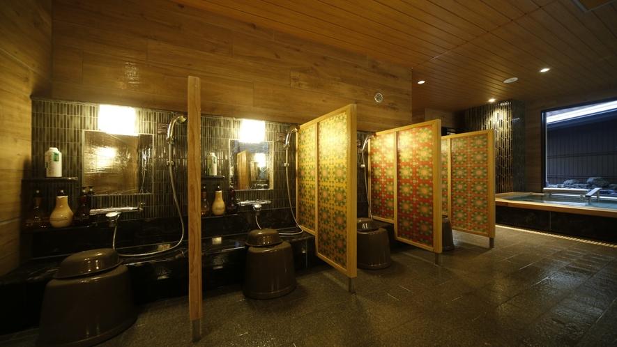 ◆大浴場カラン◆(男女ともに9か所)