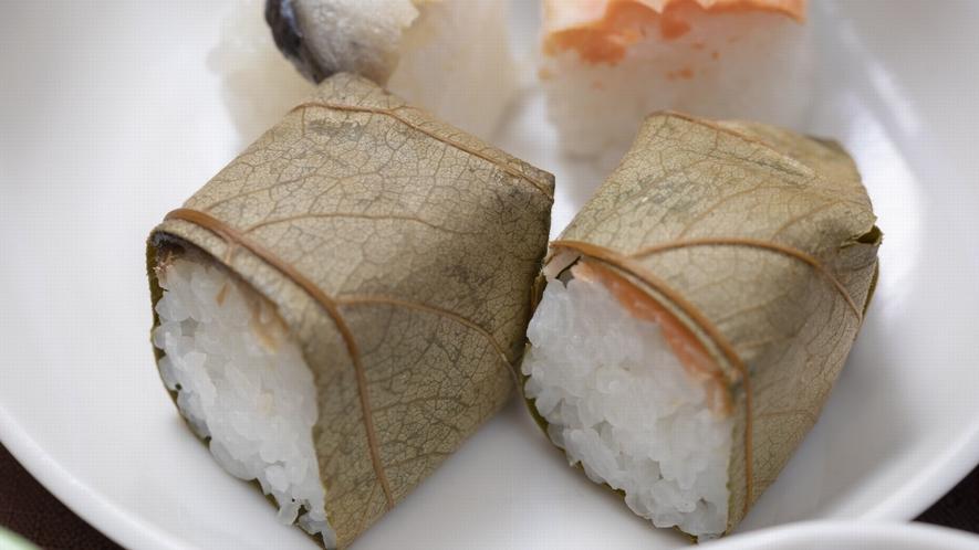 ◆柿の葉寿司(イメージ)◆