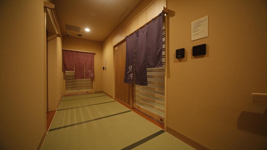【男性・女性】大浴場入口 1階にて15時~翌朝10時まで営業