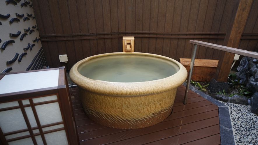 【男性】壷風呂(湯温:40~42℃)