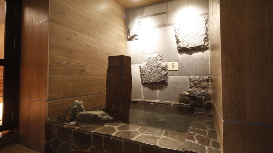 【男性】水風呂(水温:16~17℃)