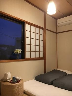 茶屋街すぐそばに、ご夫婦♪カップルにピッタリダブルベッド♪【素泊まり】個室浅野川部屋(和室)