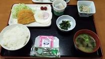 朝食<例>
