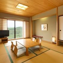 *【和室10~12畳(バスなし/洗面所付/洗浄機付トイレ)】ゆったり和む空間で、おしゃべりも弾みます