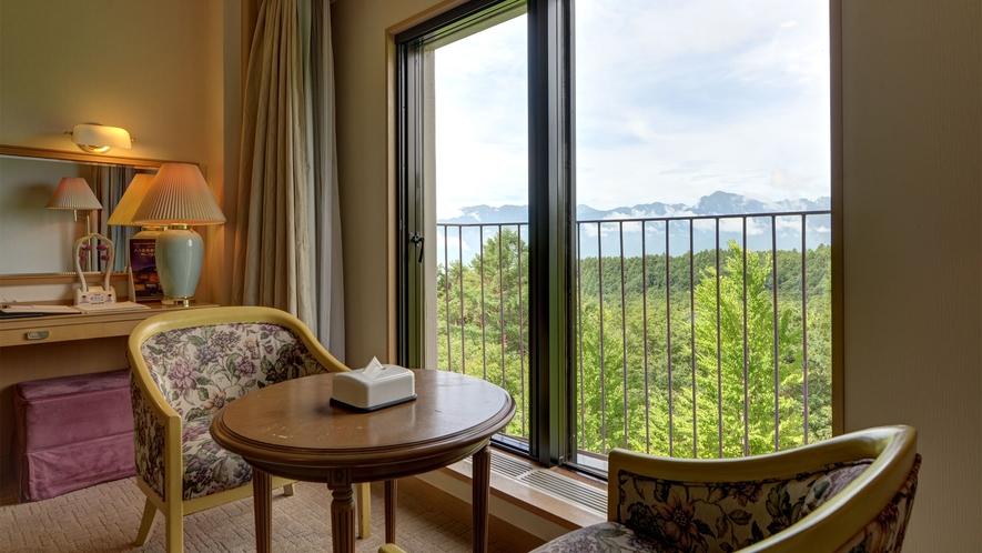 *【洋室30~36平米(バス付/洗浄機付トイレ)】眺望はお部屋によって異なります。